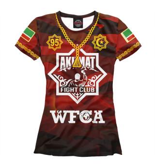 Футболка женская Akhmat Fight Club (5976)