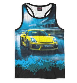 Майка борцовка мужская Porsche (4716)