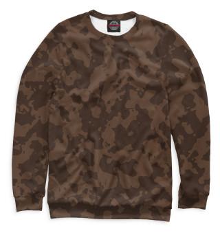 Одежда с принтом Brown Camouflage