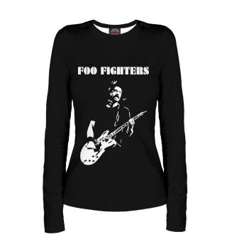 Лонгслив  женский Foo Fighters (662)