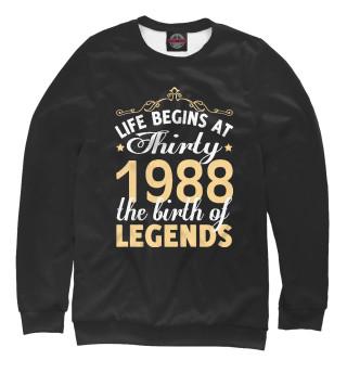 Одежда с принтом 1988 - Рождение легенды