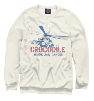 Одежда с принтом Ми-24 Крокодил
