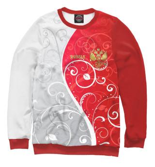 Одежда с принтом Узоры с гербом
