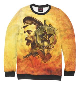 Одежда с принтом СССР КГБ