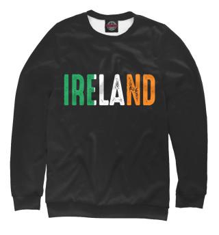 Одежда с принтом IRELAND - ИРЛАНДИЯ