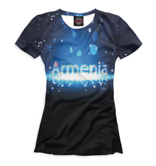 Футболка женская Армения