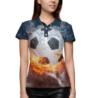 Поло женское Футбол (8500)