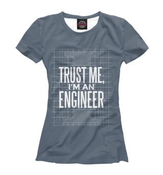 Футболка женская Инженер (1315)