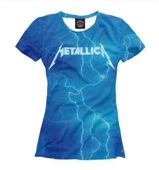 Футболка женская Metallica