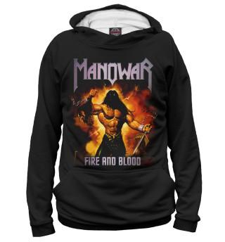 Худи мужское Manowar (2667)