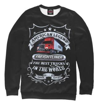 Одежда с принтом FREIGHTLINER - Американская легенда