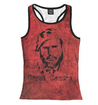 Майка борцовка женская Fidel Castro (9540)