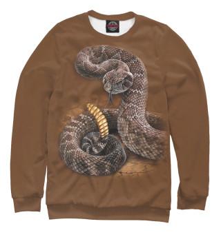 Одежда с принтом Гремучая змея