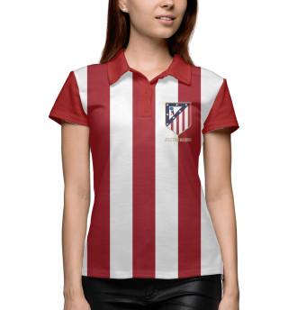 Поло женское Atletico Madrid