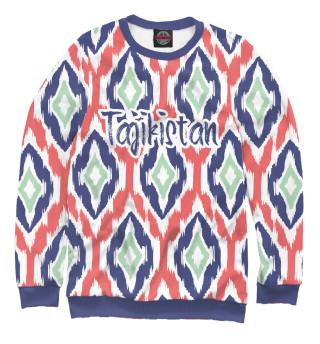 Одежда с принтом Tajikistan (418438)