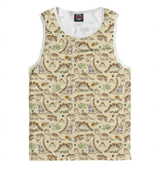 Майка мужская Динозавры (4874)