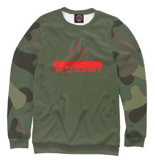 Одежда с принтом Red Army