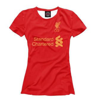 Футболка женская Ливерпуль (5227)