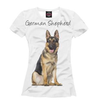 Футболка женская German Shepherd