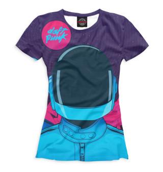 Футболка женская Daft Punk (543)