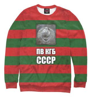 Одежда с принтом ПВ КГБ СССР