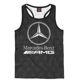 Майка борцовка мужская Mercedes-Benz AMG Premium