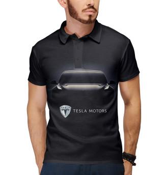 Поло мужское Tesla Model 3