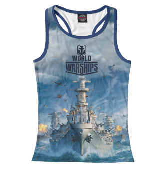 Майка борцовка женская World of Warships (752)