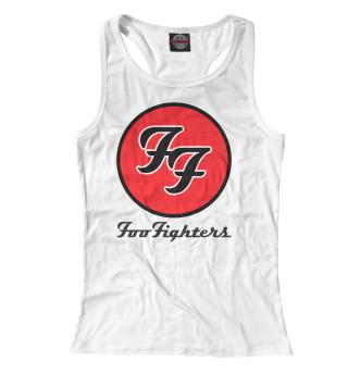 Майка борцовка женская Foo Fighters (1235)