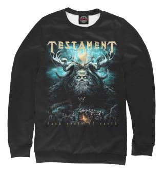 Одежда с принтом Testament (593169)