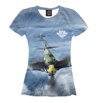 Футболка женская World of Warplanes (8794)