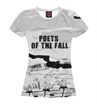Футболка женская Poets of the fall (4275)