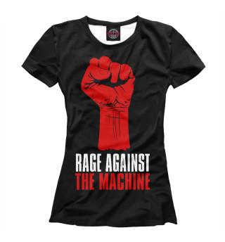 Футболка женская Rage Against the Machine (3465)