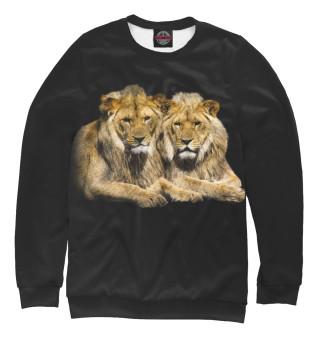 Одежда с принтом Львы