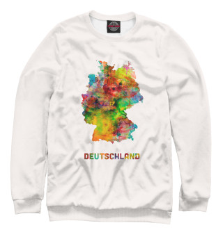 Одежда с принтом Германия (329836)