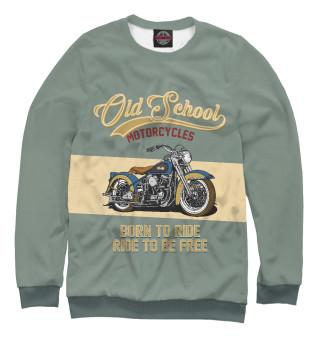Одежда с принтом Мотоциклы - Старая школа