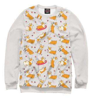 Одежда с принтом Funny corgi (467493)