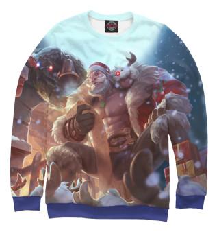 Одежда с принтом Лига Рождество