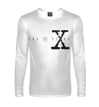 Лонгслив  мужской The X-Files logo