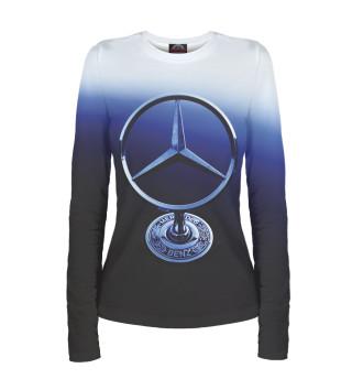 Лонгслив  женский Mercedes-Benz (4210)