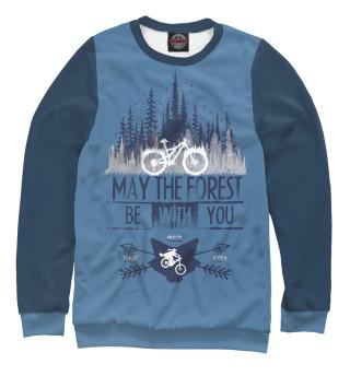 Одежда с принтом Forest ride