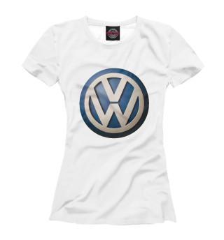 Футболка женская Volkswagen (4809)
