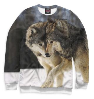 Одежда с принтом Волки (841272)