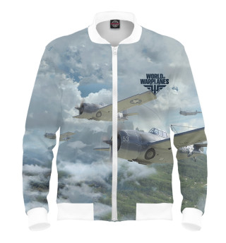 Бомбер мужский World of Warplanes (5595)
