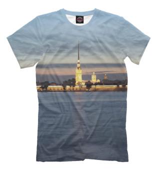 Футболка мужская Петропавловская крепость (477)