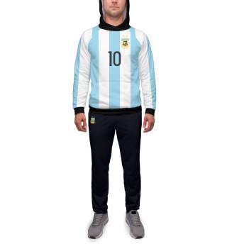 Спортивный костюм  мужской Месси Форма Сборной Аргентины