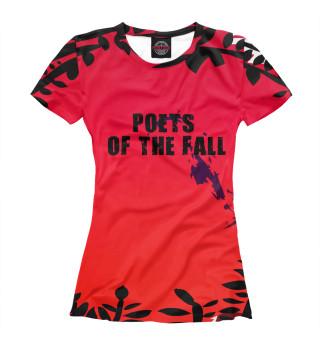 Футболка женская Poets of the fall (1855)