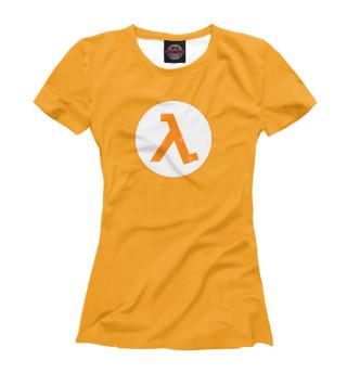 Футболка женская Half-life - Лямбда