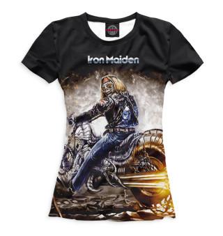 Футболка женская Iron Maiden (1010)