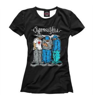 Футболка женская Cypress Hill (5637)